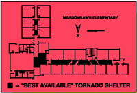 Home tornado safety plan