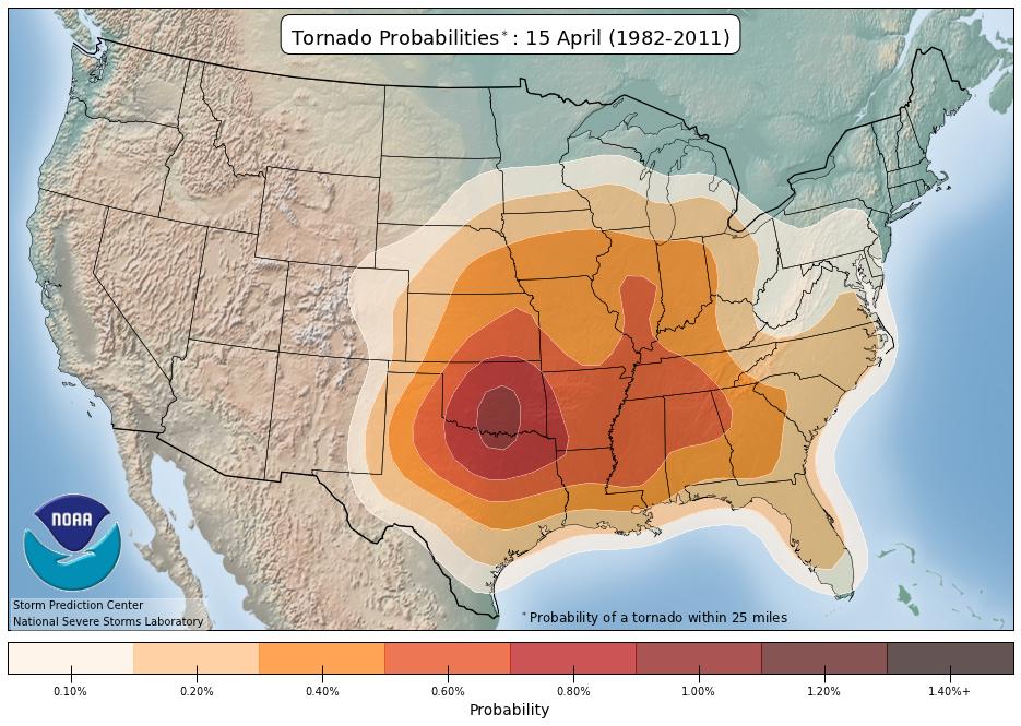 NOAA/NWS Storm Prediction Center