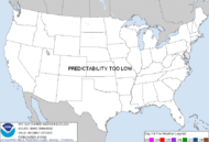 Experimental Day 3-8 Fire Weather Outlook Graphic.
