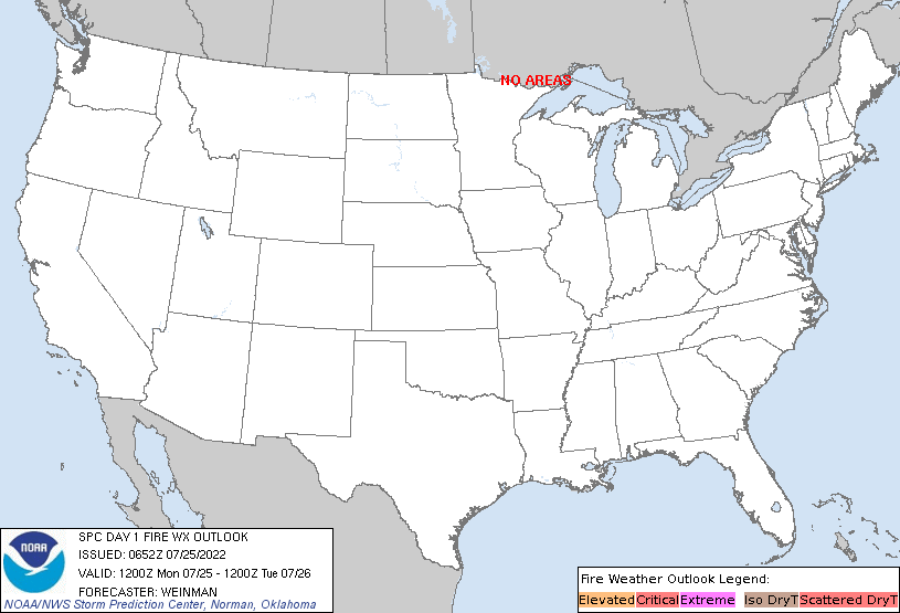 Fire Weather Forecasts