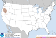 Storm Prediction Center Fire Outlook Day 1