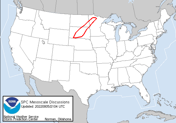Today's  Mesoscale Discussion