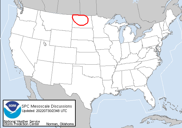 Latest SPC Mesoscale Discussions