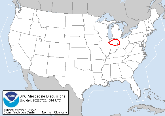 Mesoscale Discussion Image