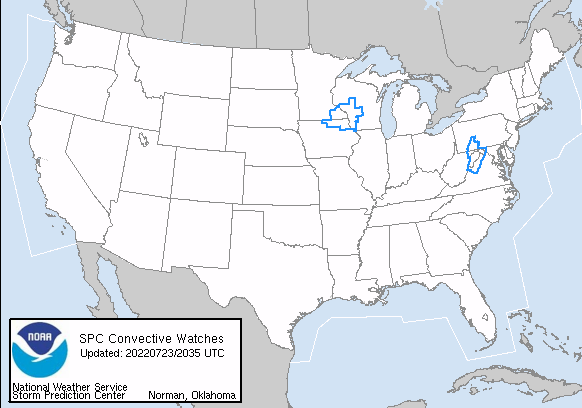Tornado & Severe Thunderstorm Watches