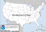 Current Weather Watches map