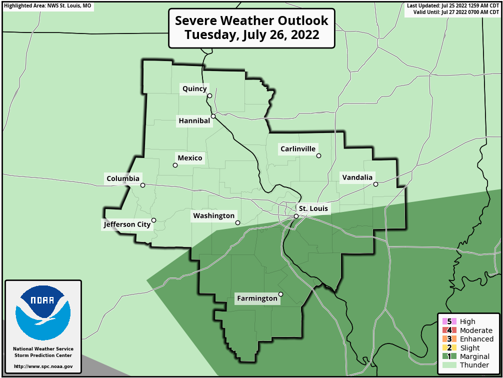 St Louis Metro Weather Alerts Missouri – Weather Alerts for