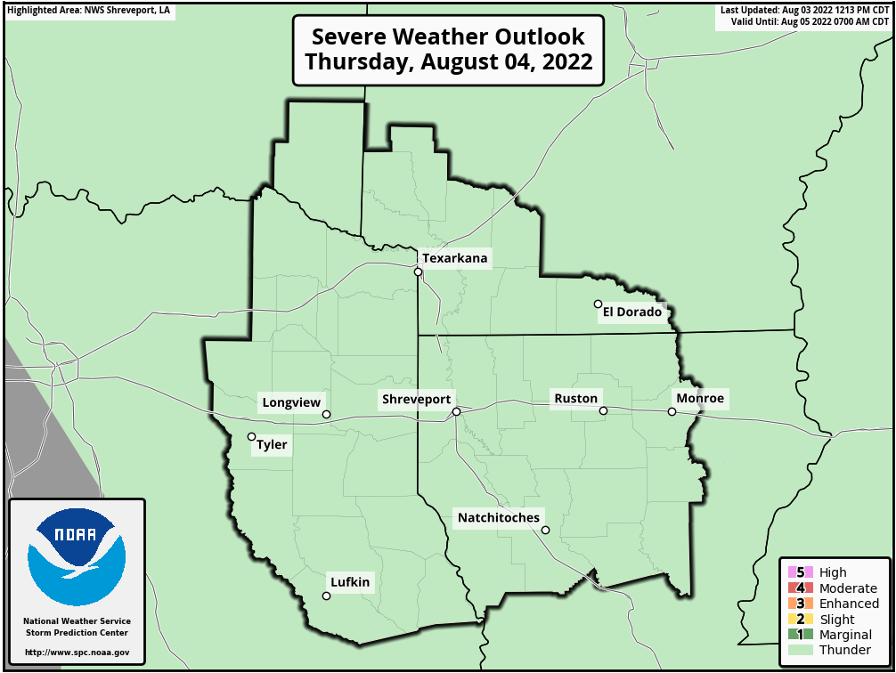 SPC Day 2 Severe Weather Outlook