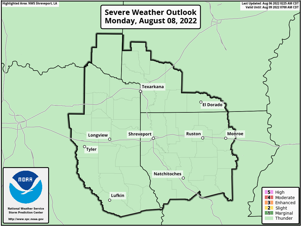 SPC Day 3 Severe Weather Outlook