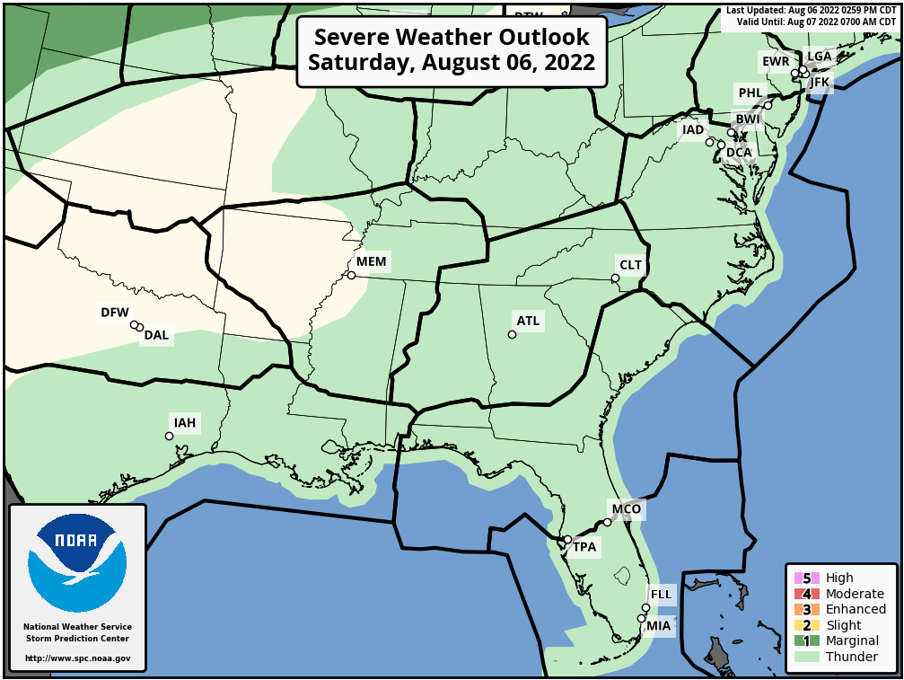SPC Convective Outlook Day 1