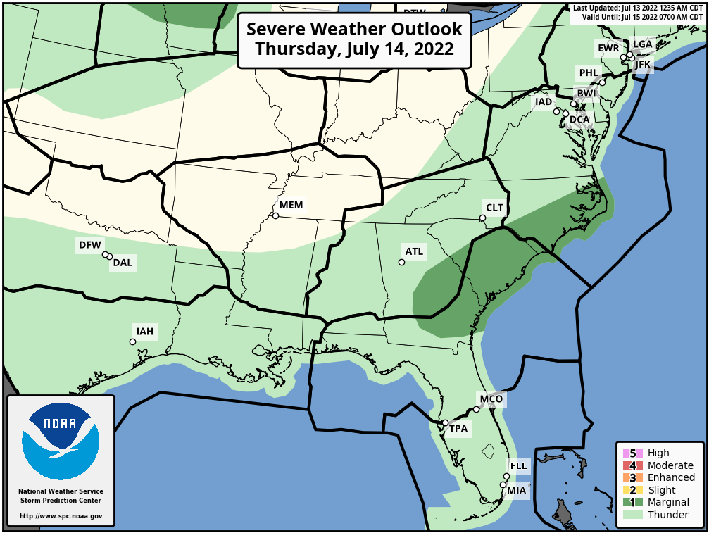 SPC Convective Outlook Day 2
