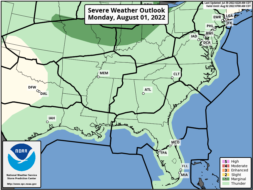 SPC Convective Outlook Day 3