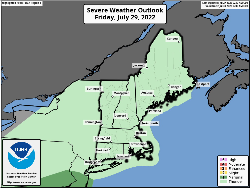 Southern New England Weather Page » Crown Weather Services