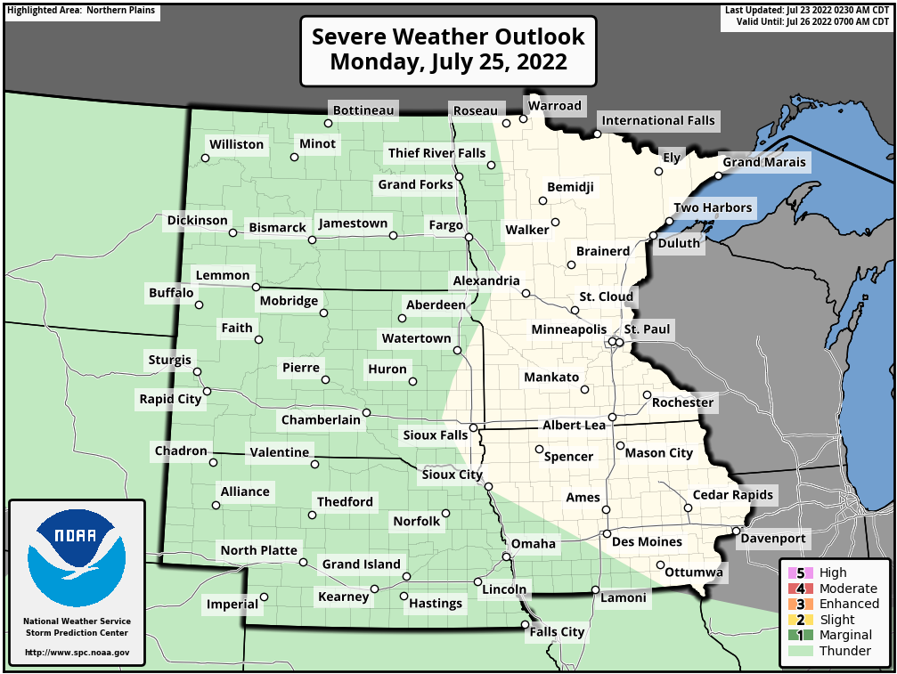 Day 3 Severe Weather Outlook