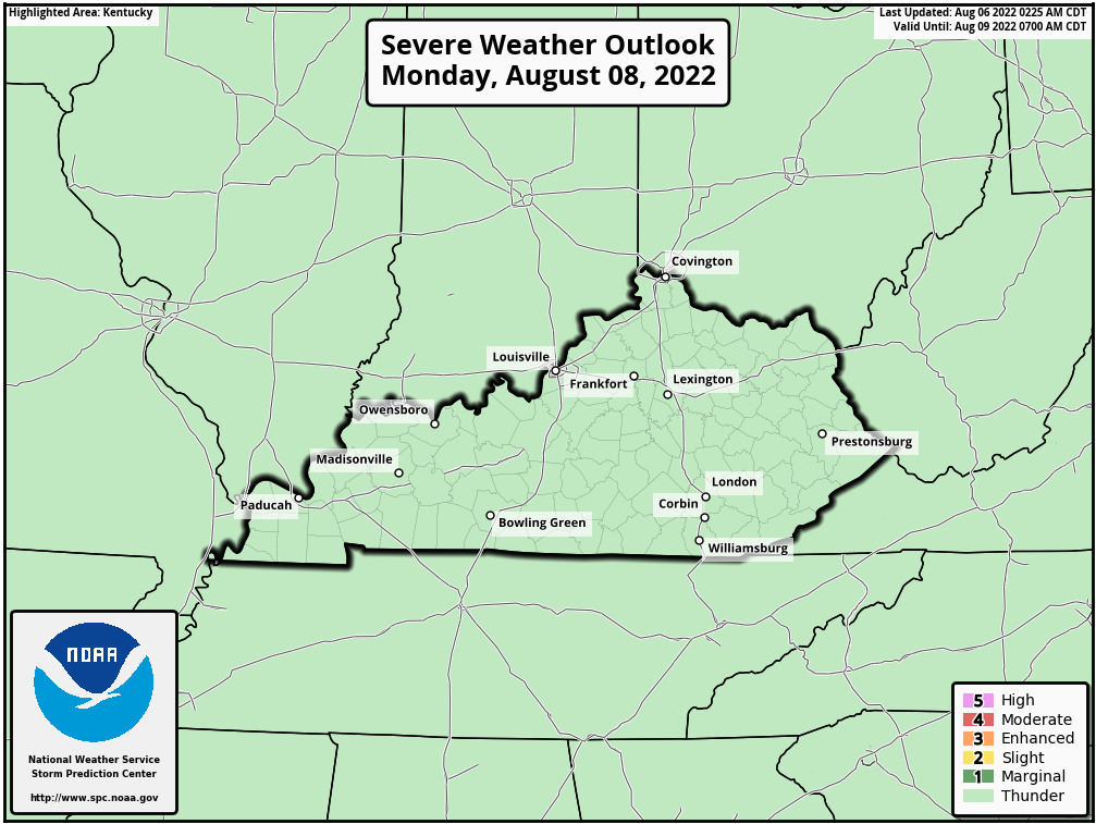 Ky Day 1 Outlook