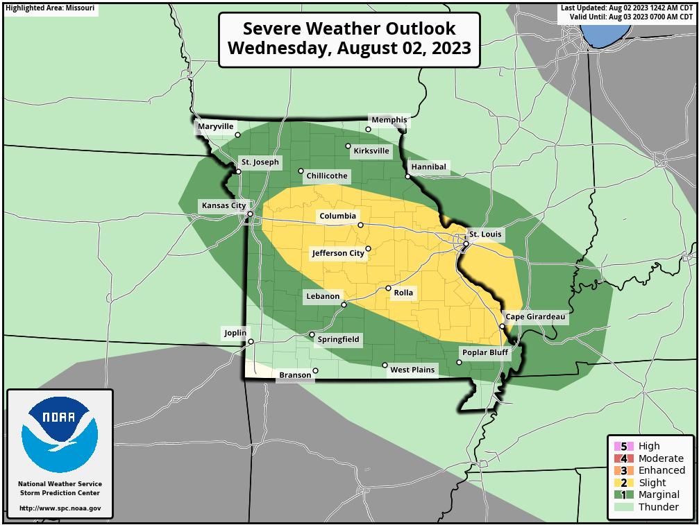 Stormdar Weather | Branson, Missouri Weather Forecast