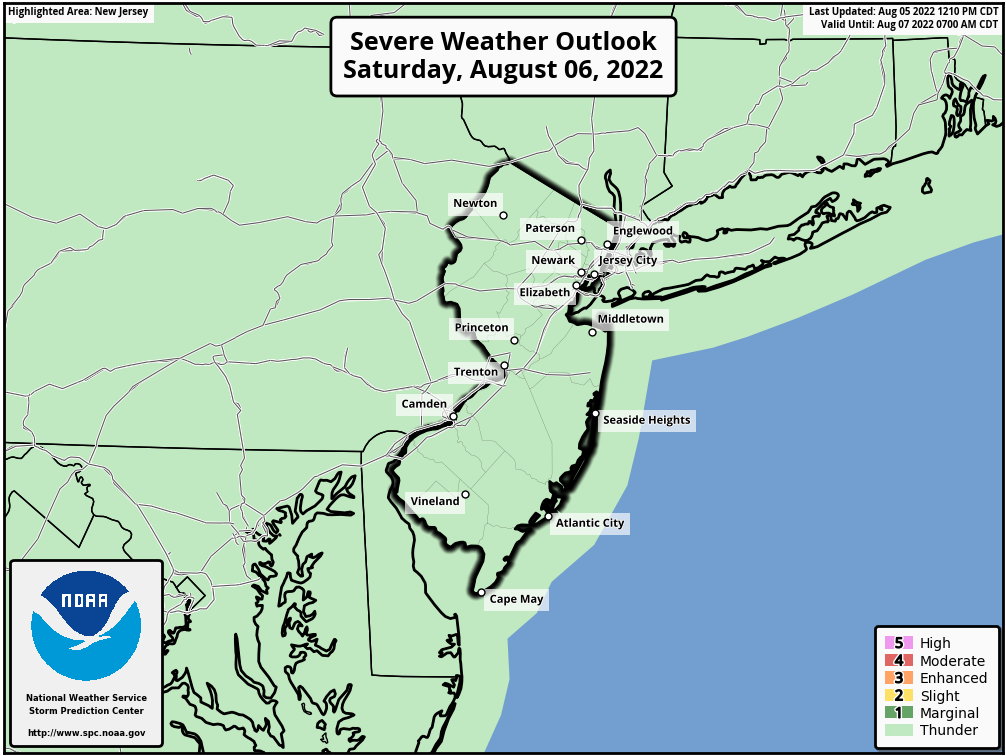 Severe Weather Outlook – Hunterdon County Weather