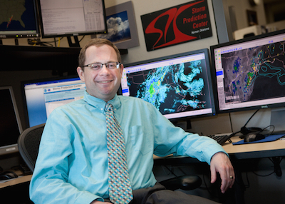 Image of Patrick Marsh, Warning Coordination Meterorologist