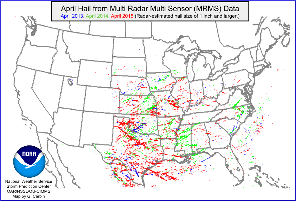 All Storm Reports Across The Continental U S In 2014